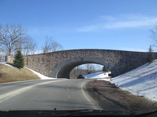 Great overpass just before Monticello.
