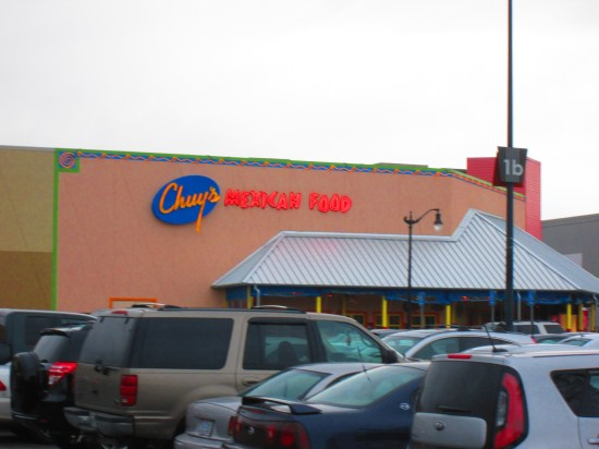 Chuy's Mexican Restaurant.