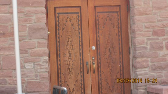 Beautiful doors.
