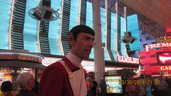 Mr Spock was about 6'6""