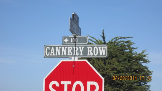 Dr. Lee is on Foam St, one block up from Cannery Row.