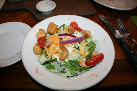 Outback salad, very delicious.