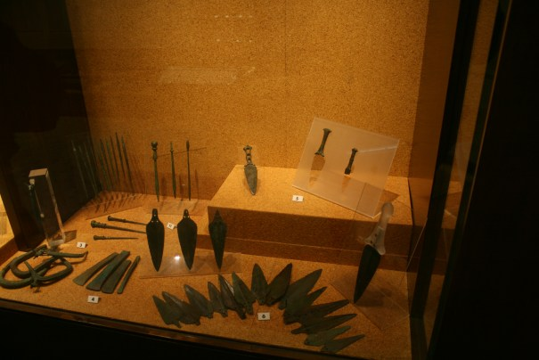 Tools and weapons.  One day our guns will be obsolete and on display in a museum.