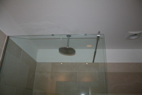 Shower head.