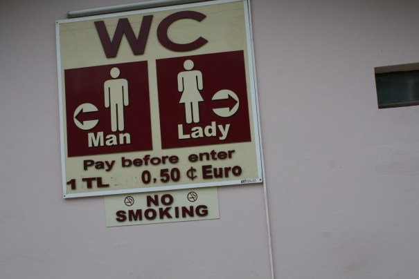 In Turkey, no pay, no poop.