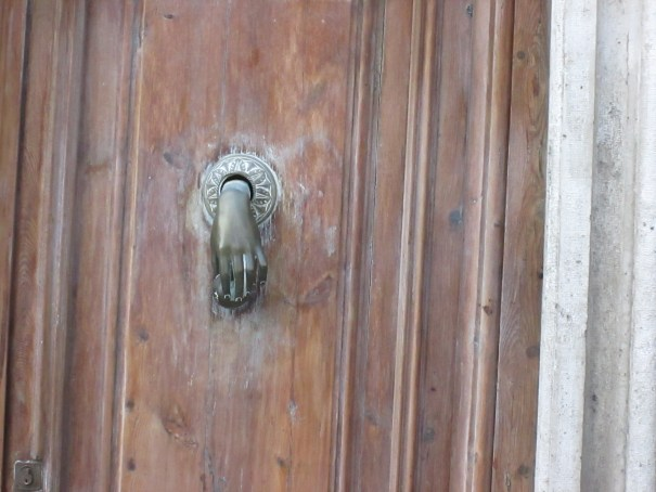 Intimate knocker.