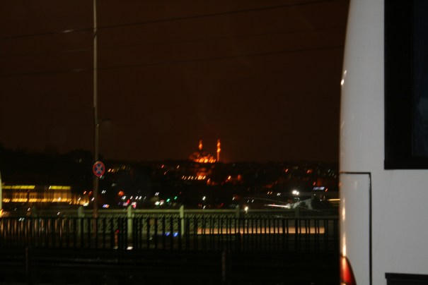 Distant Mosque.