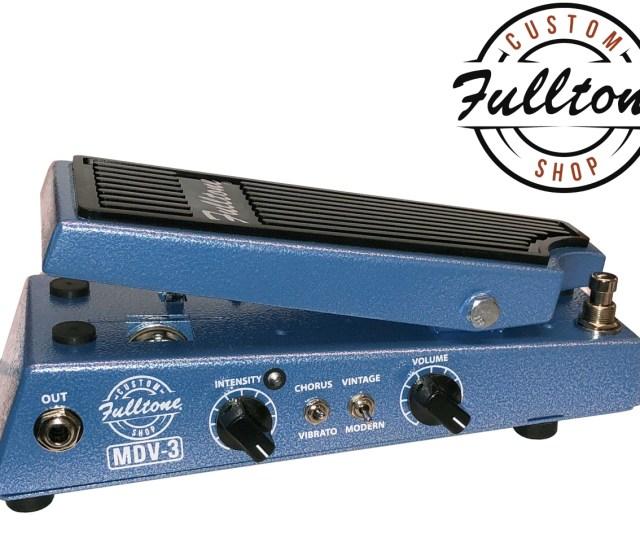 Fulltone Custom Shop Mini Dejavibe Mdv 3 V2