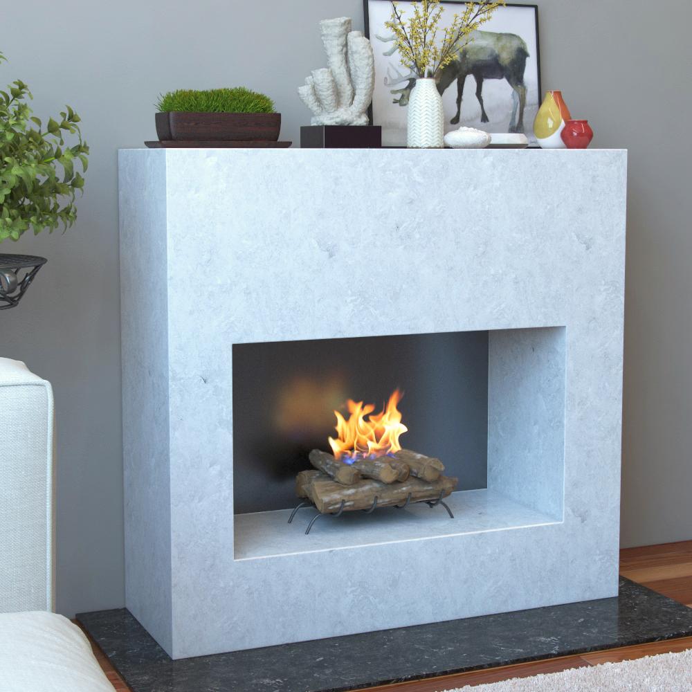 Convert Gas Log Fireplace To Wood Burning