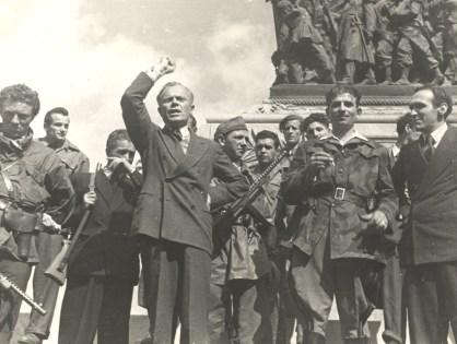 Un presidente partigiano