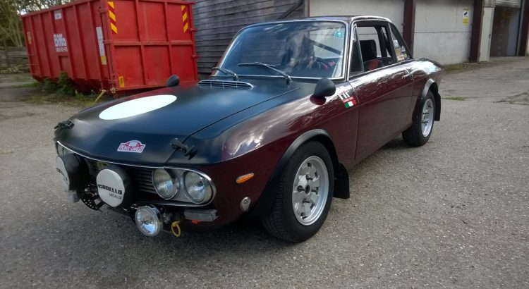 Fulvia Coupe Historic rally prepared with FIA papers  SOLD