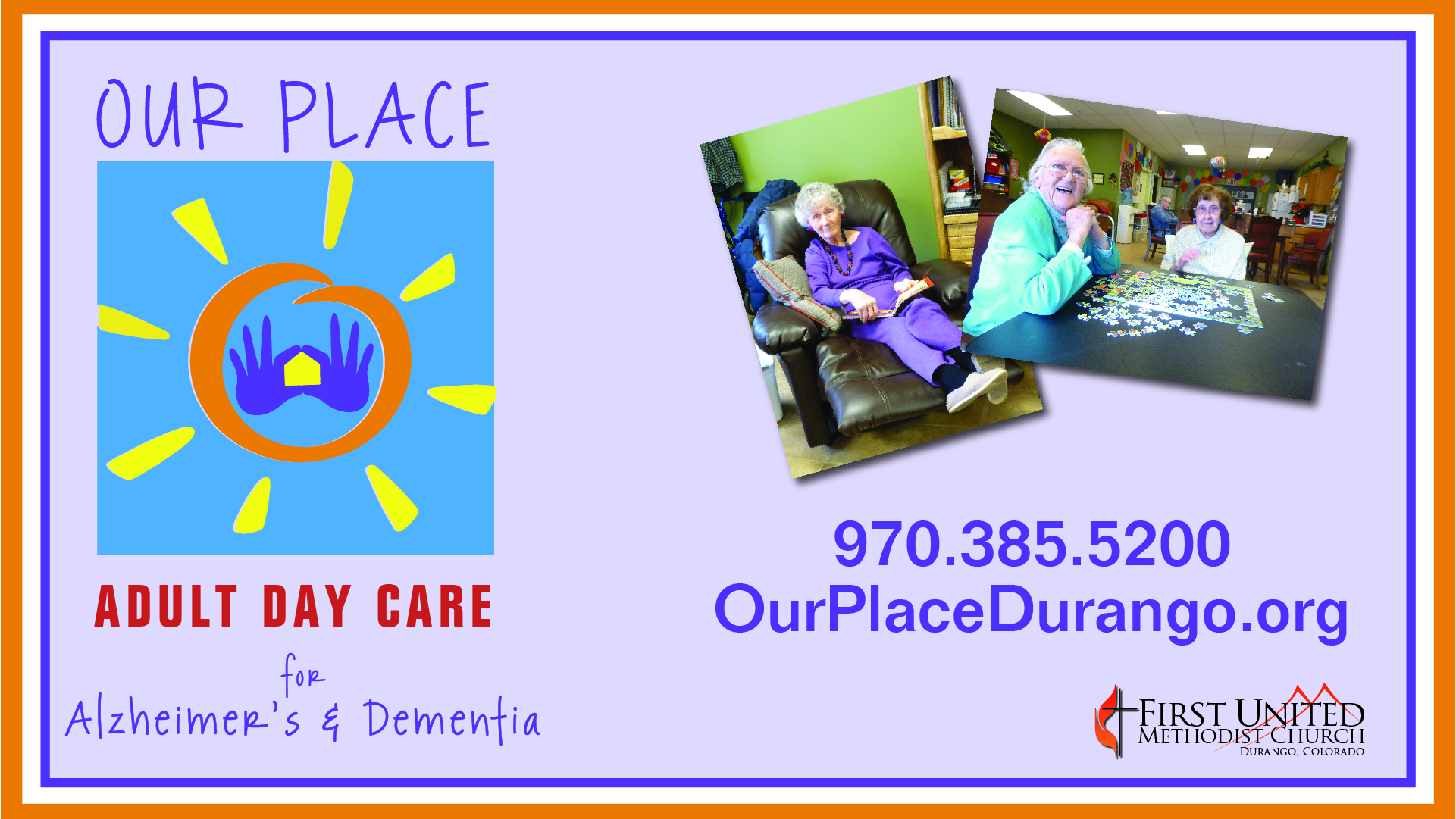 "Thank you from ""Our Place"""