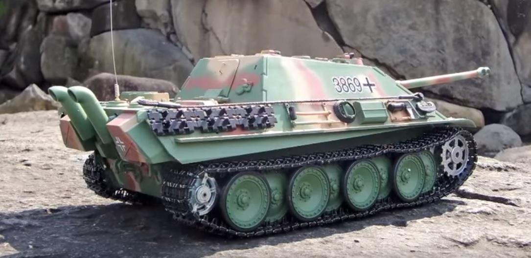 Henglong Tank German Jagdpanther - Fun-and-Media