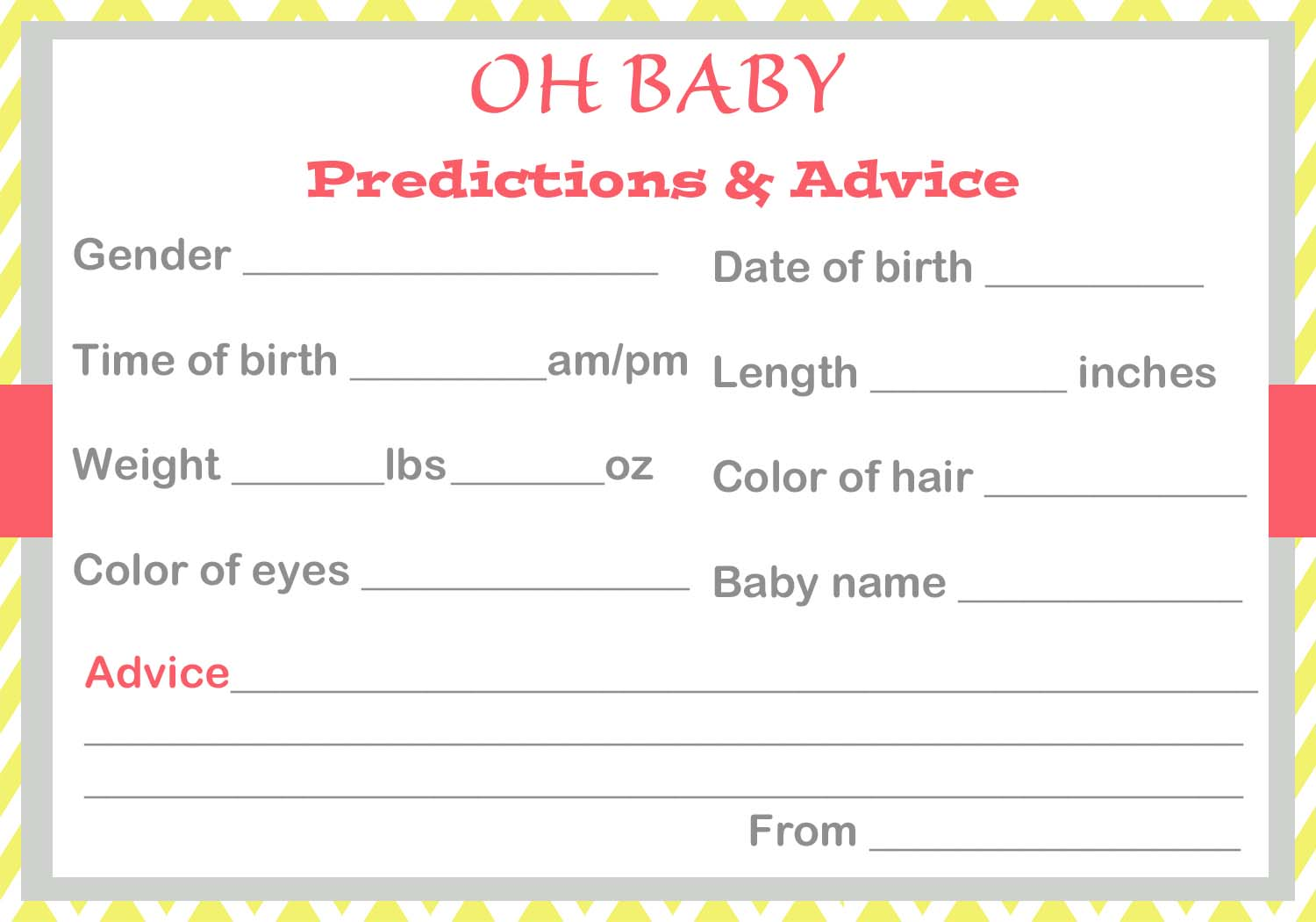 Baby Shower Ice Breaker Games