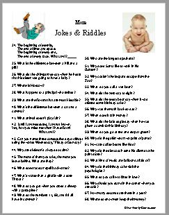 Jokes and riddles to give you a few laughs today