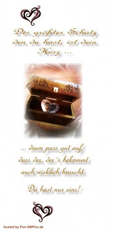 Herzen Spruch Bild  Facebook BilderGB BilderWhatsapp