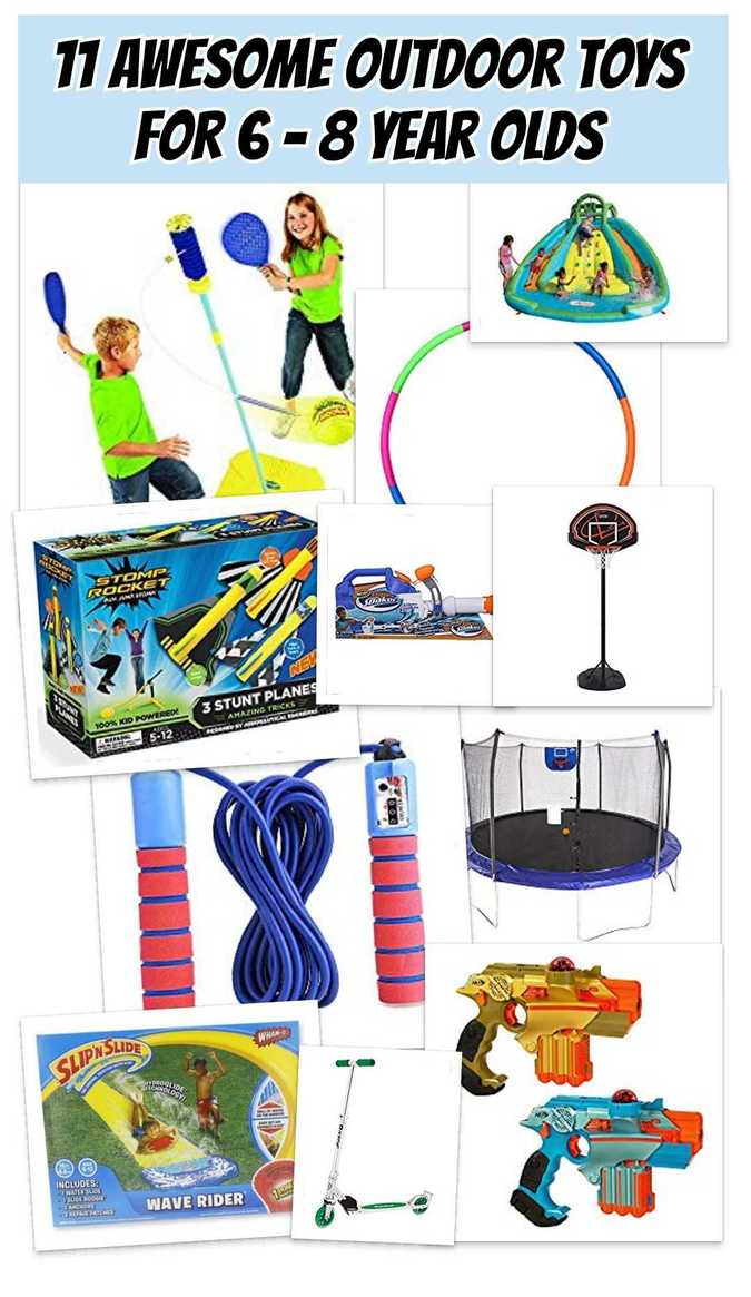 Outdoor Toys For 6 8 Year Olds Toys For Kids