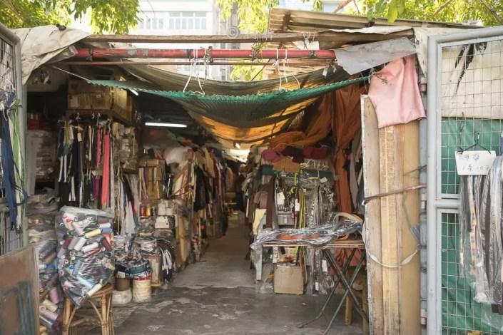 香港深水埗欽州街小販市場