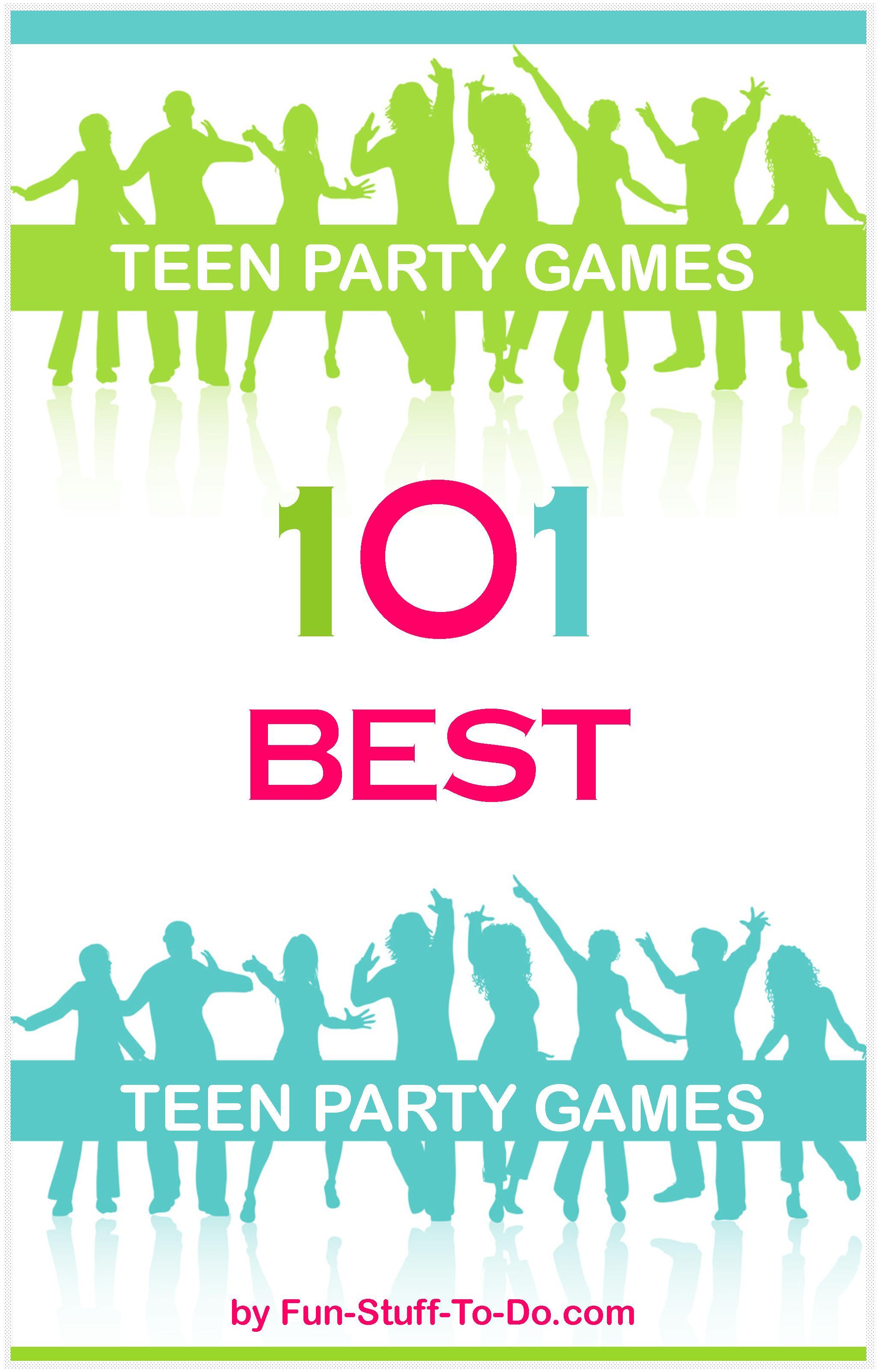 20 Fun Teen Party Games
