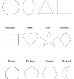 Geometric Shapes Worksheets   Free To Print [ 1191 x 866 Pixel ]