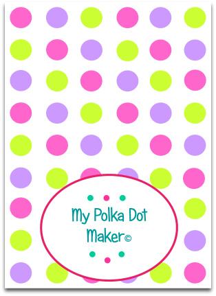 My Polka Dot Maker   Print Polka Dots Fast