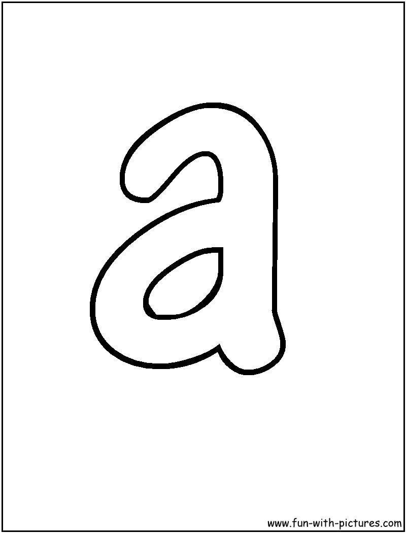 Free Alphabet Letters A to Z Red