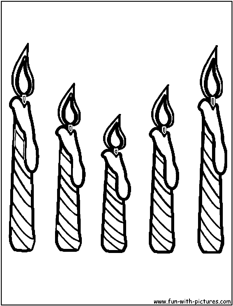 Coloring Pages Of Candles For Diwali Coloring Pages