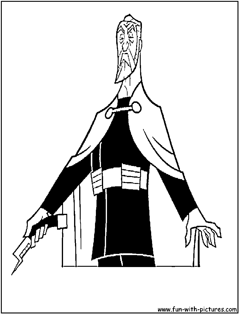 Count Dooku Coloring Pages Coloring Pages
