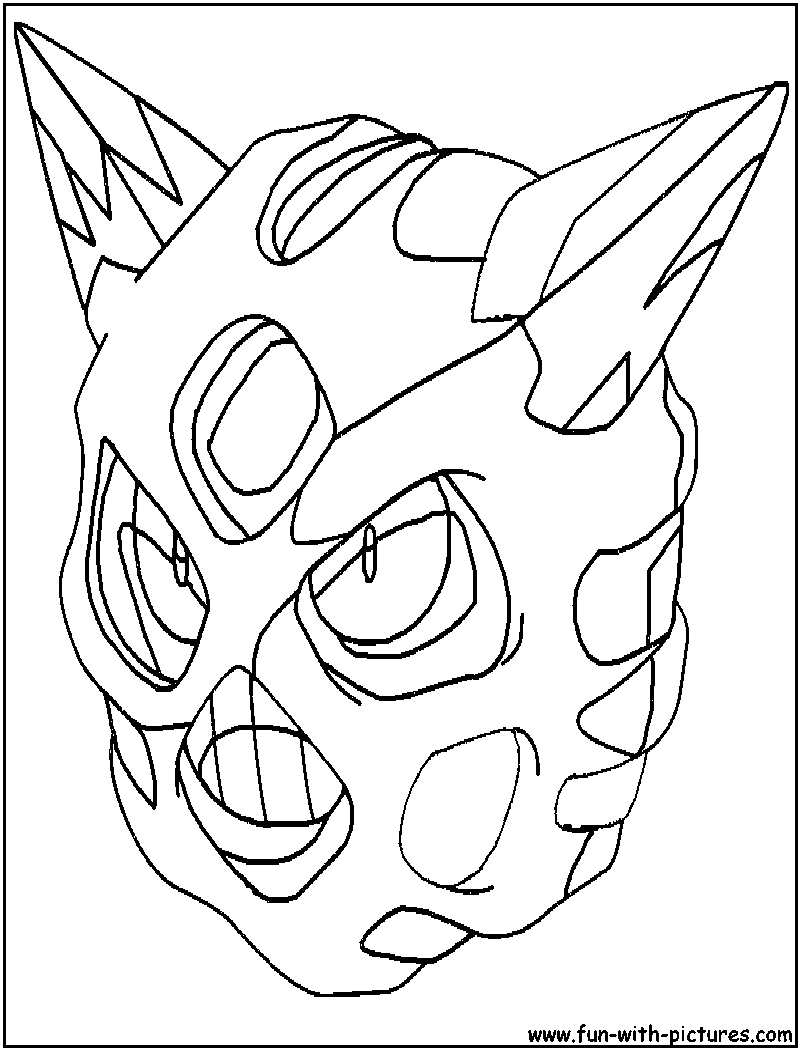 Ice Pokemon Coloring Pages Free Printable Colouring