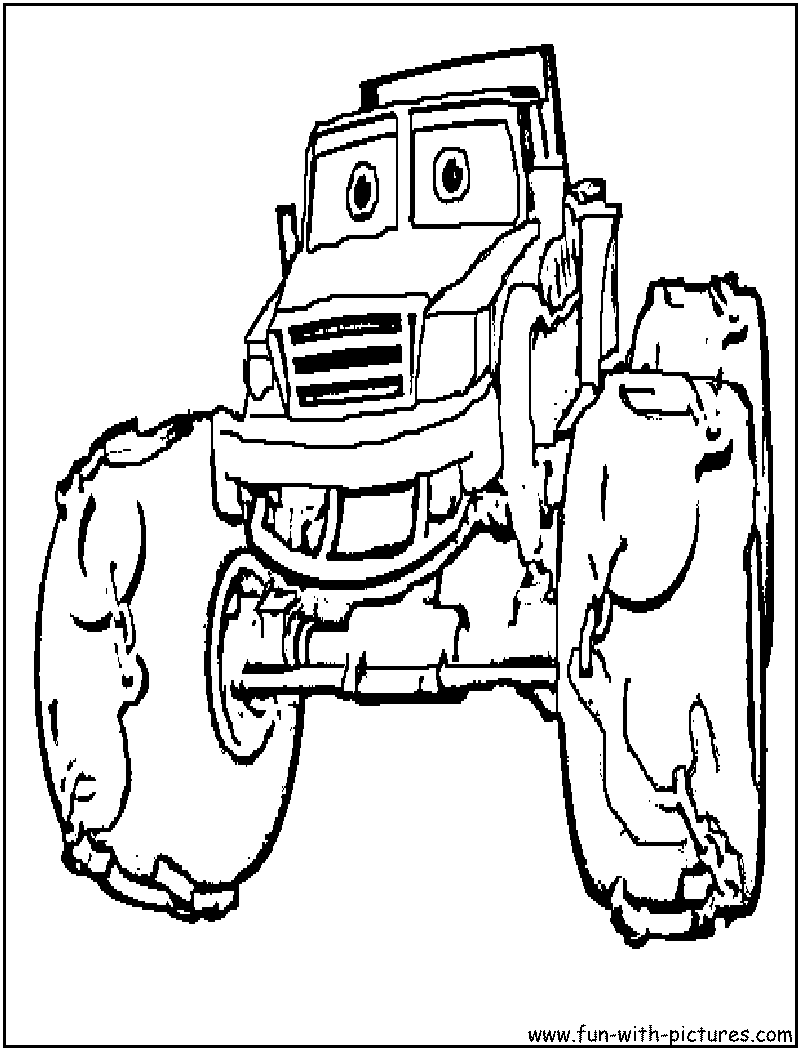 Big Box Of Coloring Pages Trucks, Big, Free Engine Image