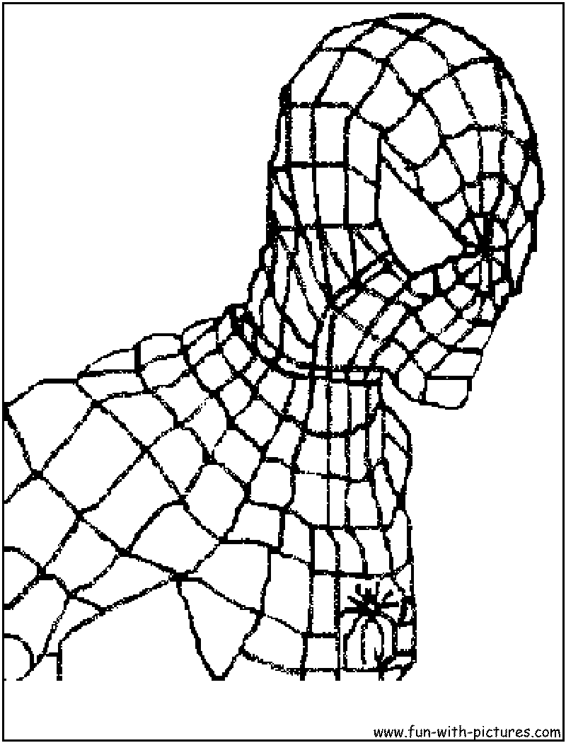 Spider-Man 1 Coloring Pages