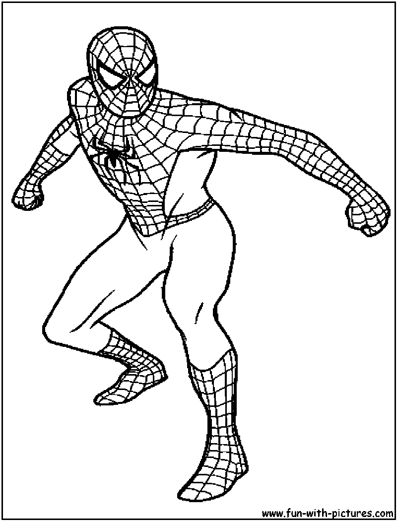 Spiderman Coloring Pages Free Printable Colouring For Kids To Print And Color In