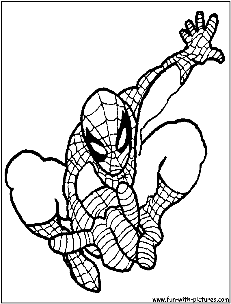 The Rhino Spider Man Coloring Sheet Coloring Pages