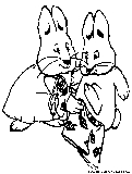 Maxandruby Cartoon Coloring Page Of Max And Ruby