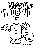 wow wow wubbzy coloring pages # 56