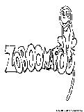Zelda Spirit Tracks Coloring Page