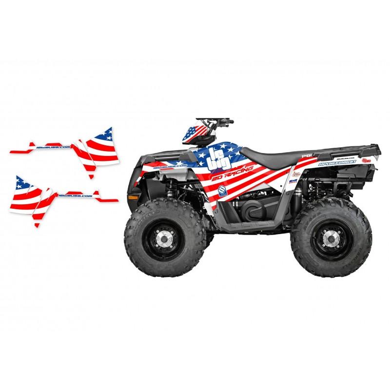 personnalisez votre 500 scrambler avec nos kits deco kit deco complet quad polaris lebig usa 500 scrambler 95 09 de