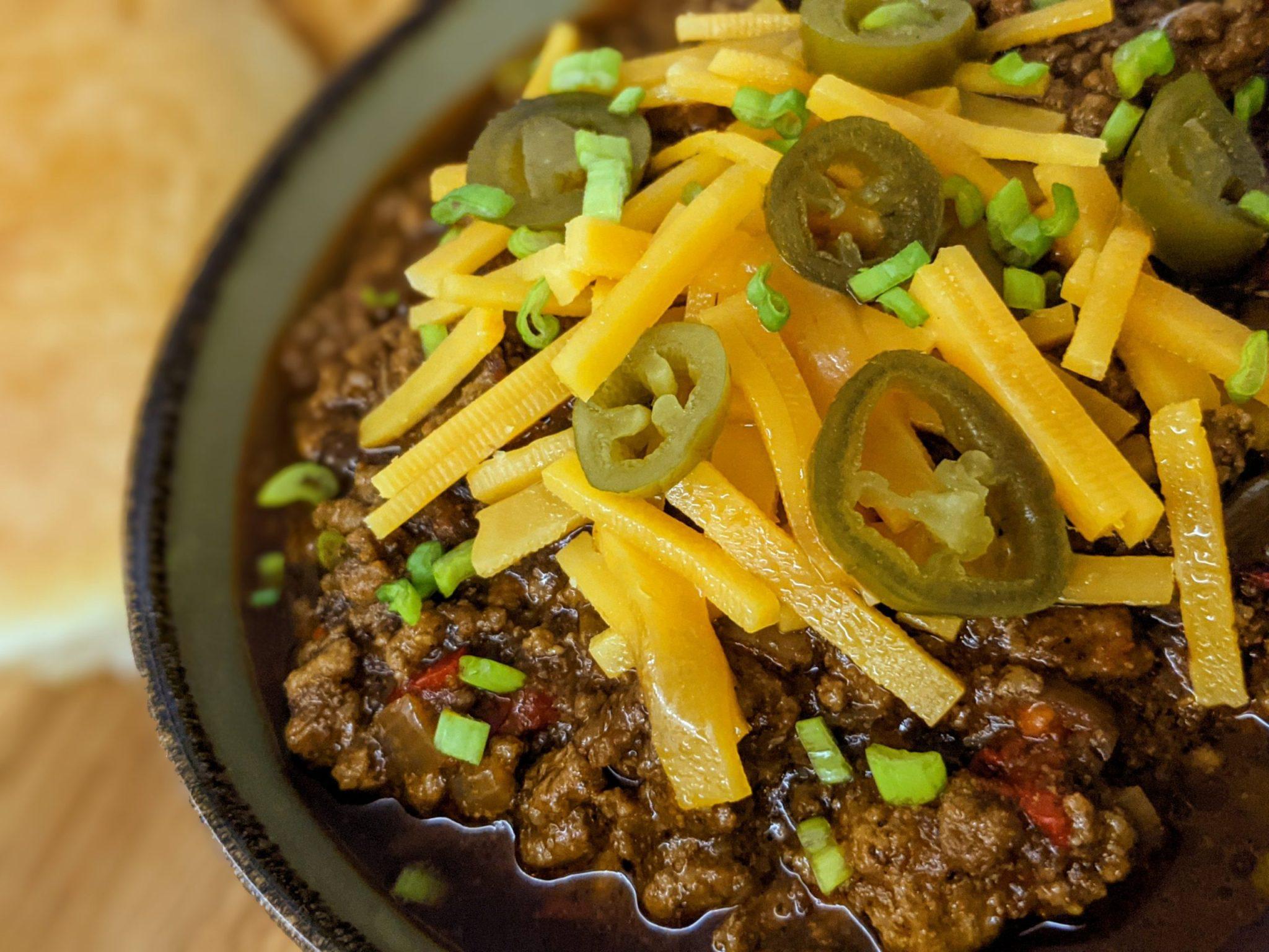 Chili instant pot