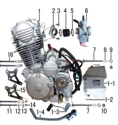 m2r m1 250cc dirt bike engine to carb manifold intake sold out [ 1000 x 1000 Pixel ]