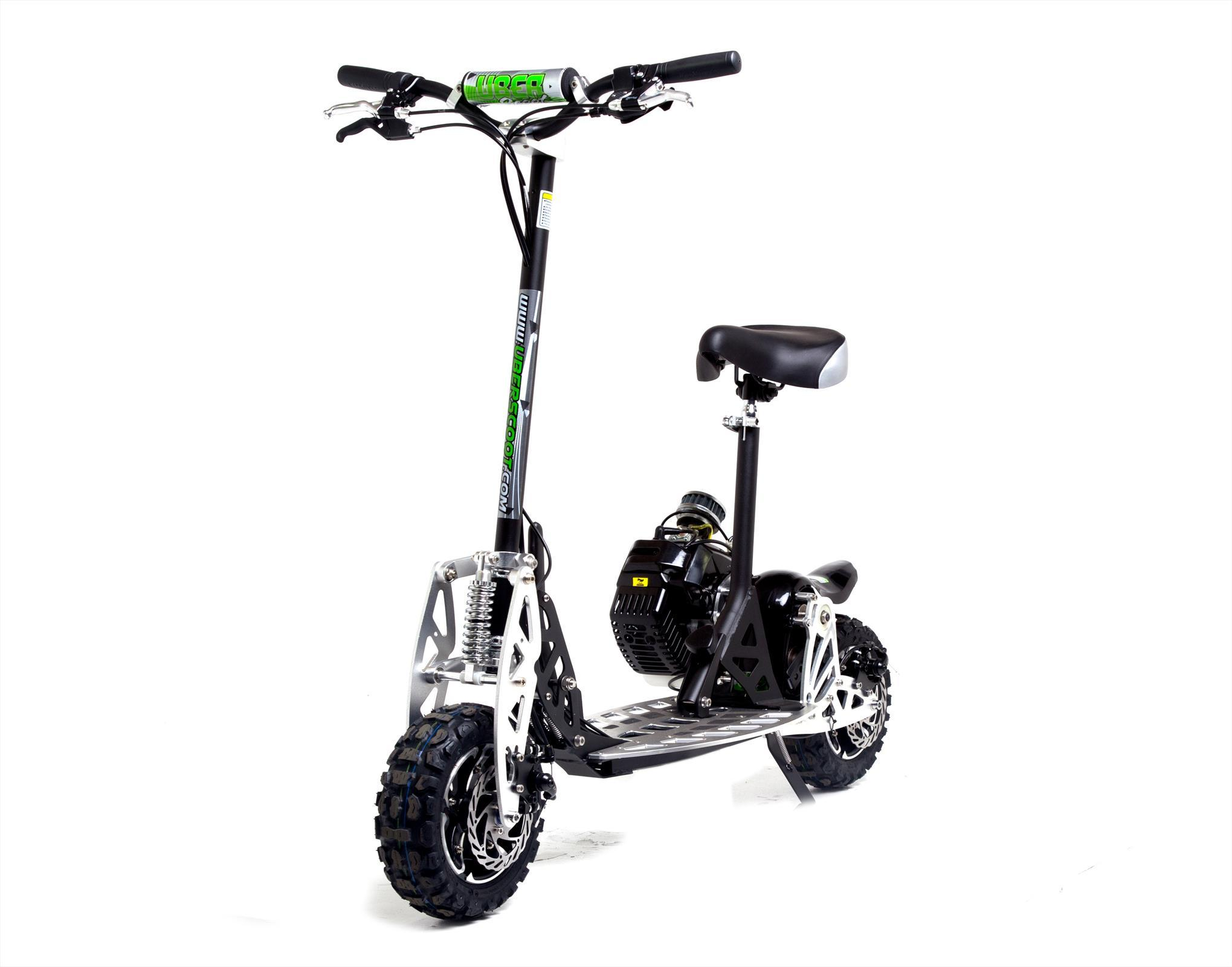 Uber Scoot 2x 50cc Petrol Scooter Big Wheel Off Road