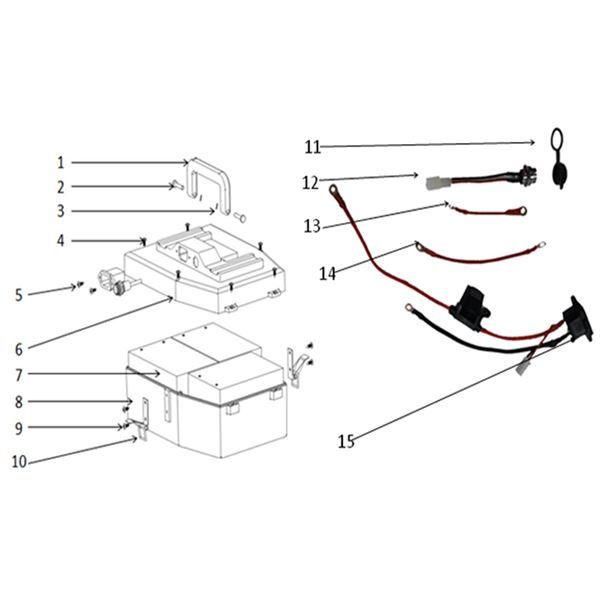 T-Max Roughrider 1000w Quad Bike Fuse Box & Power Socket