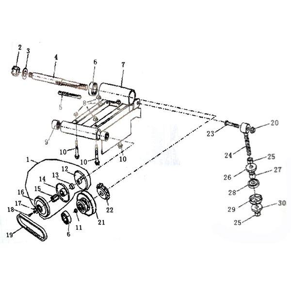Funbikes GT80 Drive Belt 9.100.018