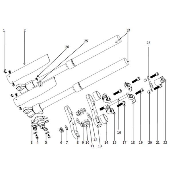 Funbikes MXR Dirt Bike Ignition Barrel & Key