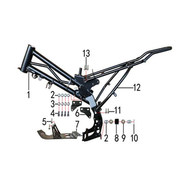 M2R KMX-R 140 Pit Bike Engine Hanger Spring Washer