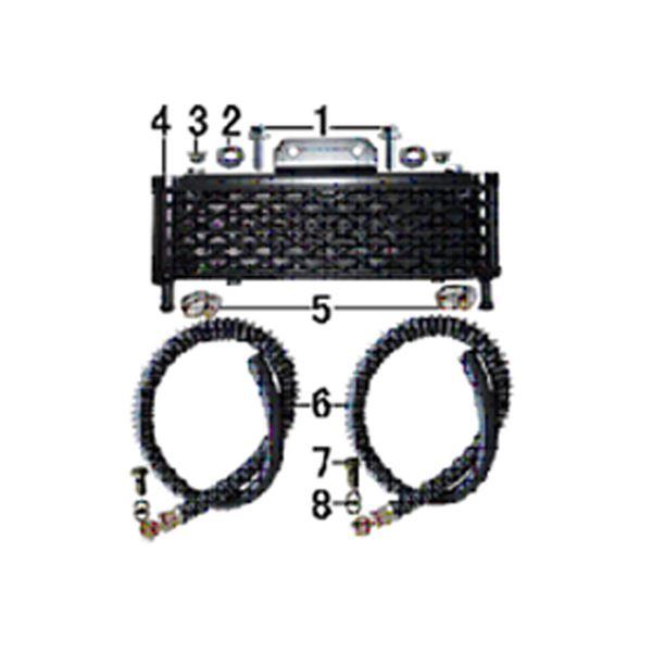 M2R KMX-R 160 Pit Bike Oil Cooler Fixing Lock Nut