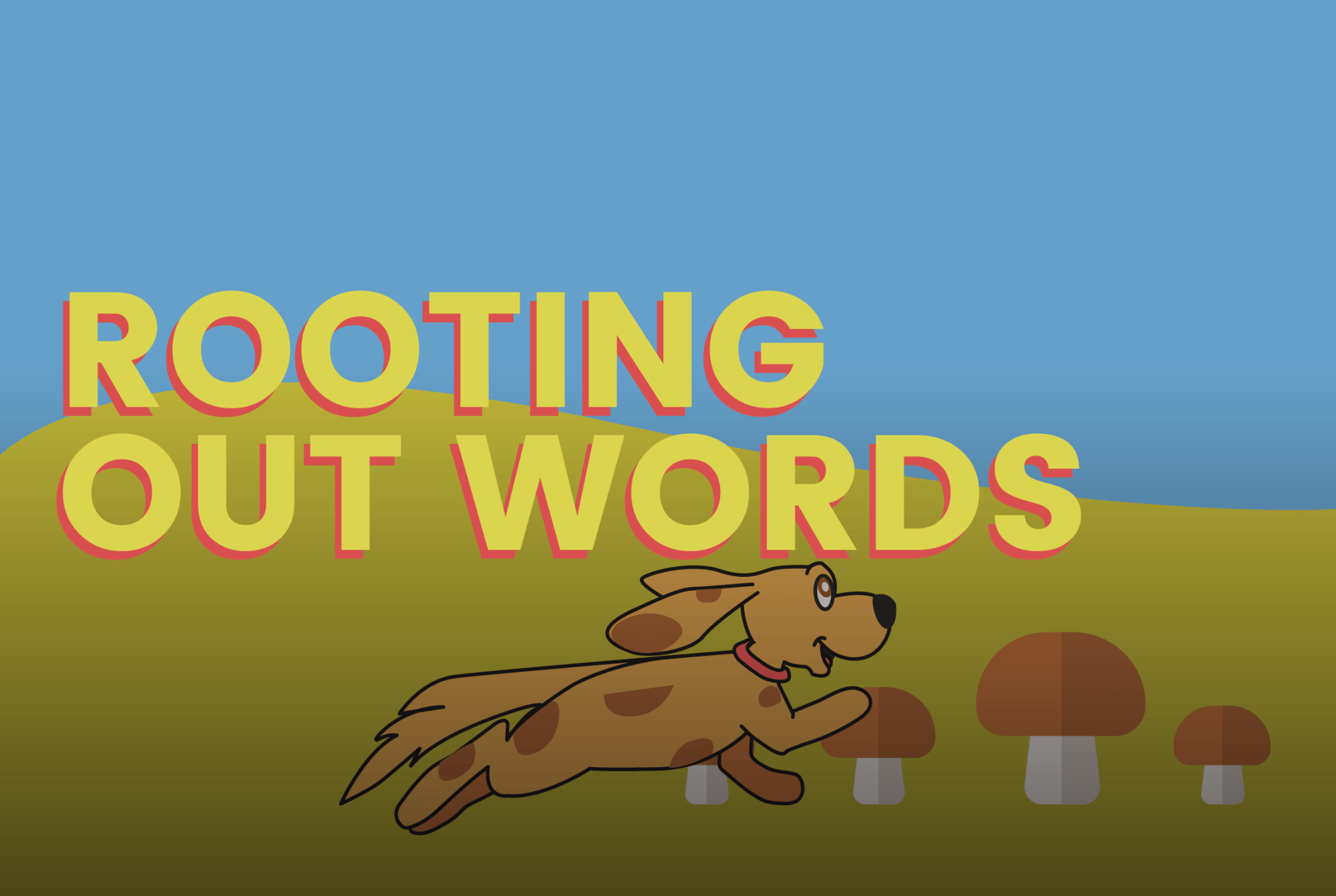 hight resolution of Rooting Out Words - a game on Funbrain