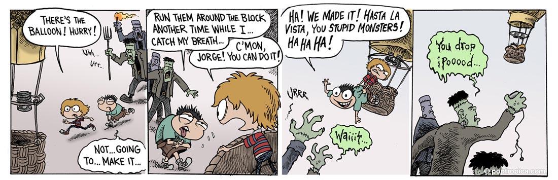 Poptropica Comic Page 22