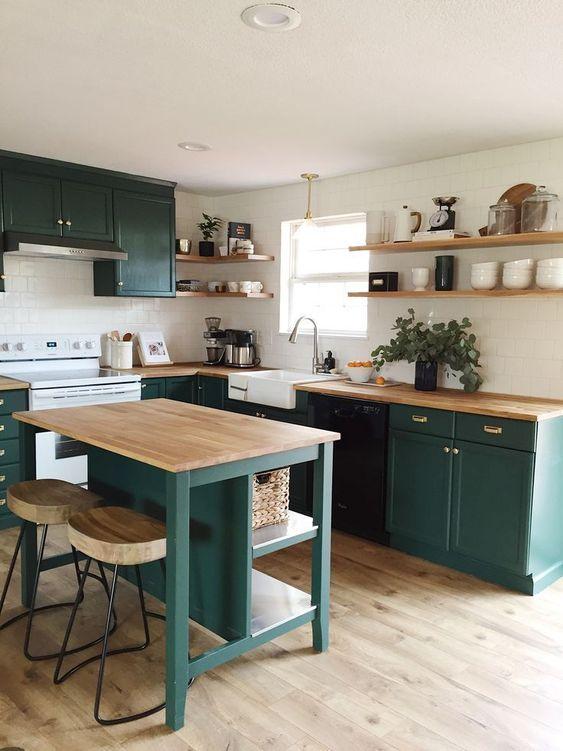 桌型獨立廚房中島超美實用案例靈感與完勝優點 – 什麼鳥玩佈置 享生活   居家生活靈感誌