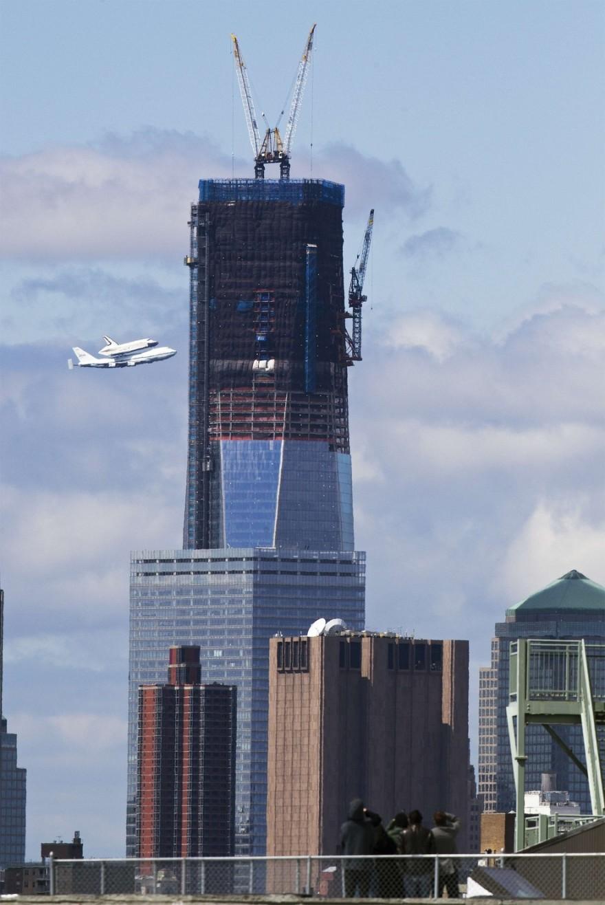 30 Amazing Photos Of One World Trade Center Under