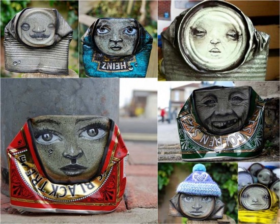 Creative Street Art From Empty Tin Cans  FunCage
